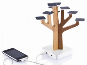Solar Suntree Ladestation