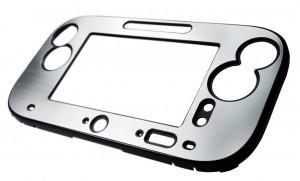 schützende Frontabdeckung für das Wii U Gamepad im stylishen Alu-Look