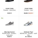 Übersicht Sneaker