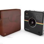 Polaroid Socialmatic Zubehör- Tasche braun © Polaroid