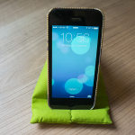 Handgefertigter Handysitzsack von mobildiscounter.de
